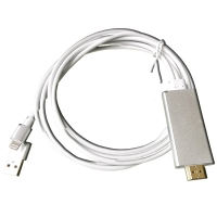 iPhone 5/6 TV Cable Lightning to HDMI TV Cable Adapter AirPlay